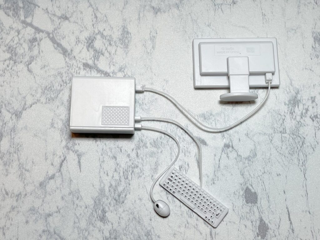 マウスキーボード接続